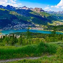 Photo of Swiss Alps and Italian Lakes