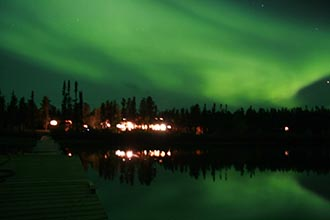 Photo of Northern Lights and the Wildlife of Northern Manitoba