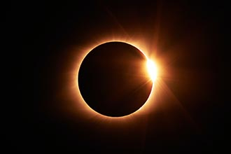 Photo of 2024 Solar Eclipse ~ Totality Over Texas